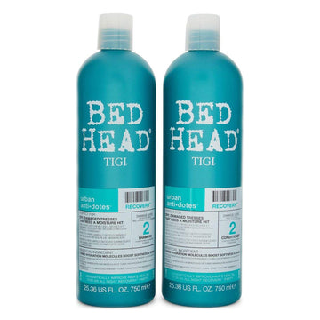 Bed Head TIGI 2 Pack Urban Anti + Dotes Shampoo & Conditioner 750ml