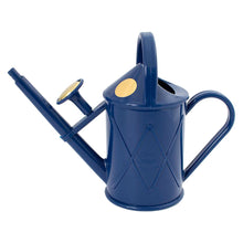 Haws 1L Heritage Bartley Burbler Indoor Plastic Watering Can Blue Child Garden