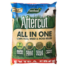 Aftercut All In One Lawn Feed, Weed & Moss Killer 400 + 40m2 (440m2) 14kg Grass Fertiliser