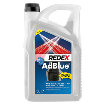 Redex AdBlue 5 Litres Fuel Treatment Additive for Diesel Car Engines RADD0029A