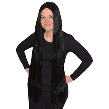 Scream Machine Extra Long Black Wig 90cm / 36