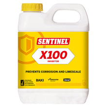 Sentinel X100 Inhibitor 1L Prevent Corrosion Limescale Central Heating Cleaner