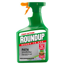 Roundup Ready To Use Path Weedkiller 1.2L Kills Weeds Roots 20% Extra Free