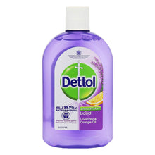 Dettol Disinfectant Liquid Lavender & Orange Oil 500ml Kills Bacteria