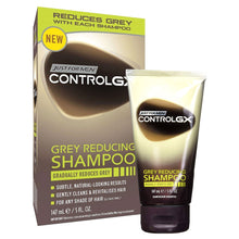 Just For Men Control GX Grey Reducing Shampoo 147ml Cleans Revitalises Hair