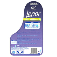Lenor Amethyst & Floral Bouquet Super Concentrate 3.8L 190 Washes Fabric Conditioner
