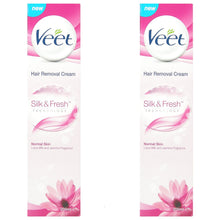 Veet Hair Normal Skin Removal Cream 200ml Silk Fresh Lotus Milk Jasmine