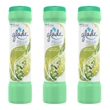 Glade Shake N Vac - Lily Of The Valley - Carpet Vacuum Freshener 1-12 Packs