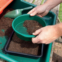 Garland Seed Tray Sieve Green Plastic Garden Soil Compost Screening Filter