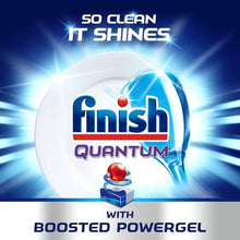 Finish Quantum Powerball Lemon Sparkle 64 Dishwasher Tablets Superior Clean
