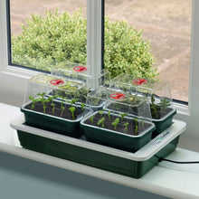 Garland G125 Fab 4 Heated Electric Propagator Plant Seed with 4 Vented Trays