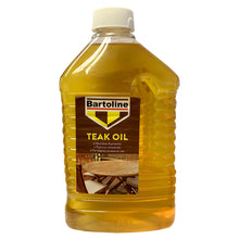 Bartoline Teak Oil 2L Nourishes Protects Replaces Natural Oils on Wood Furniture
