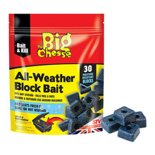 STV The Big Cheese All-Weather Block Bait 30 Blocks Rat Mouse Poison Water Proof