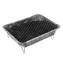 Grillchef Landman Disposable Ready To Start BBQ 500g Barbecue With Stand
