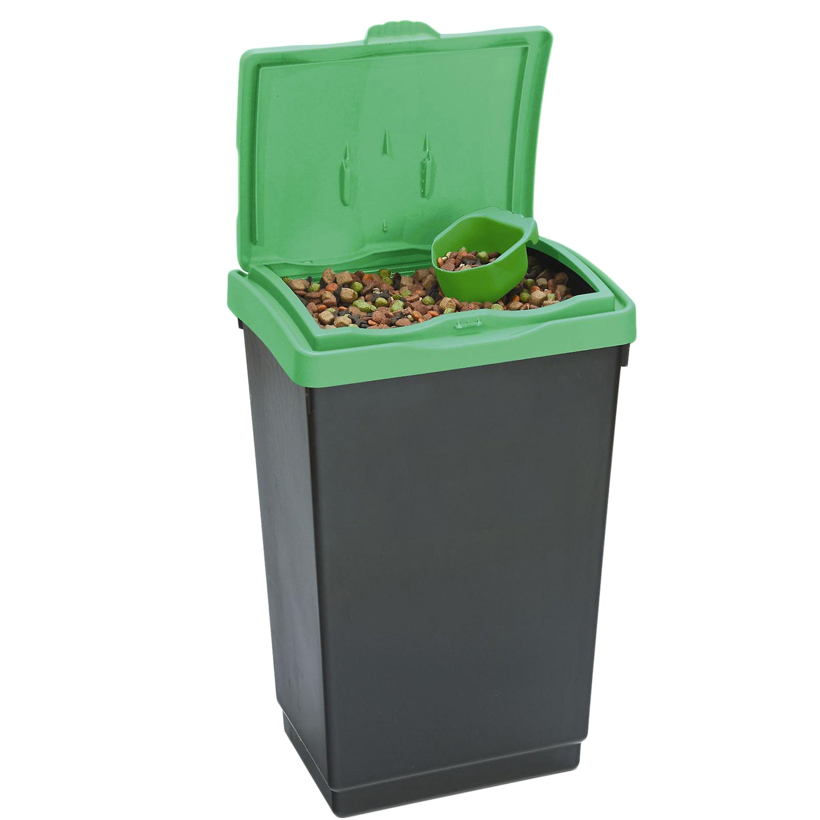 AMOS 47L Dry Bin 15kg Pet Dog Cat Food Bird Seed Feed Storage Plastic Container