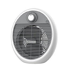 Bionaire BFH002 2KW Electric Fan Heater Compact Home Radiator - White & Grey