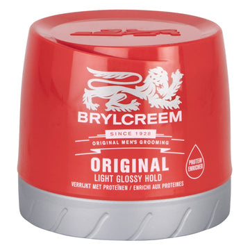Brylcreem Original 250ml Hair Styling Light Glossy Hold Smooth Wet Look
