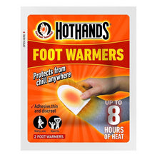 HotHands Foot Warmers Pack of 2 10 Hour Outdoor Heating Ski Snow Sock Insole