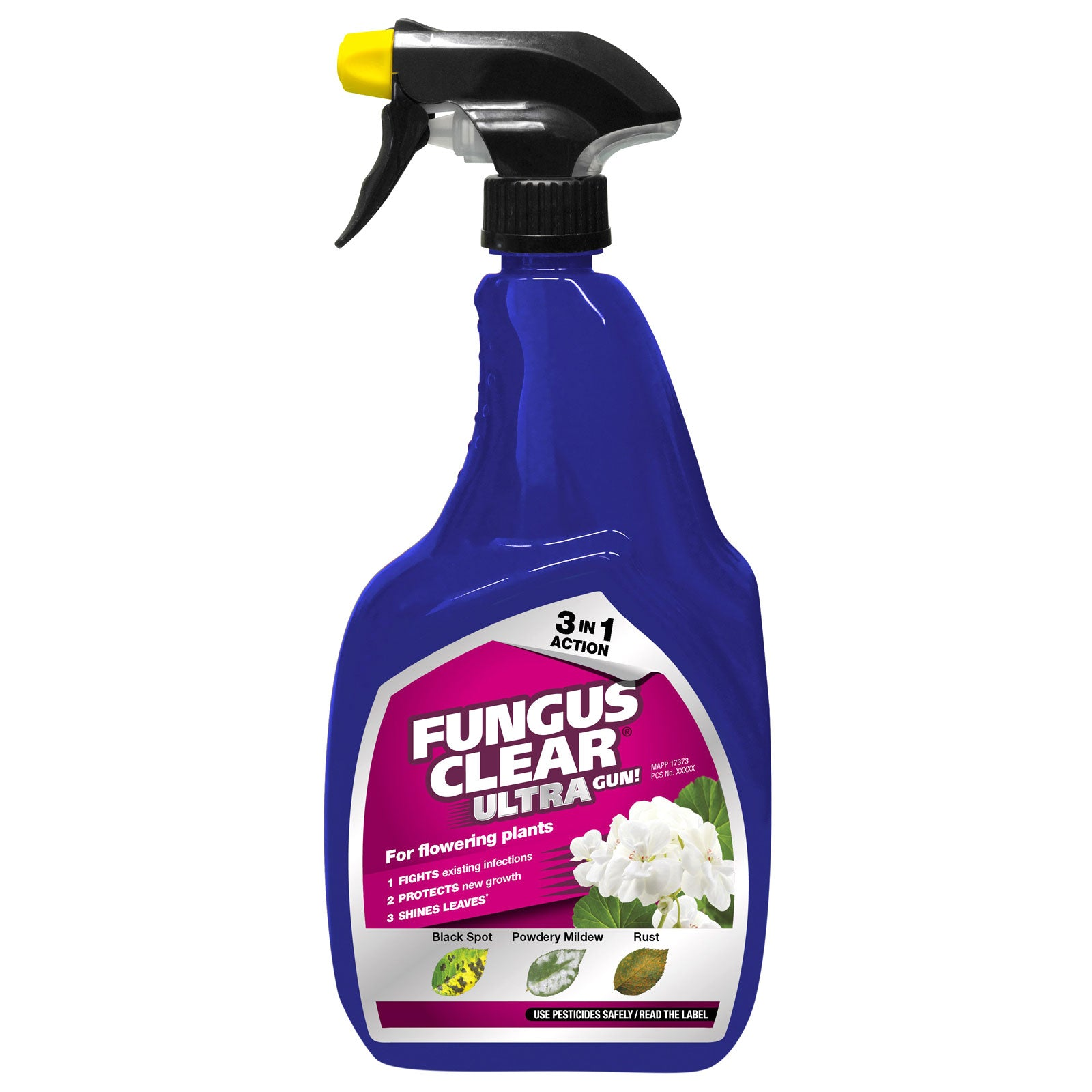 Fungus Clear Ultra Gun 1L Concentrate 3 In 1 Action