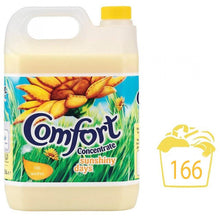 Comfort Sunshiny Days Fabric Conditioner Laundry Softener 166 Washes 5L