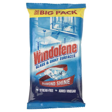 Windolene Glass & Shiny Surfaces 30 Large Wipes