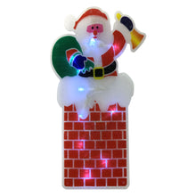 Battery Operated Indoor LED Window Silhouette Light Festive Christmas Decoration
