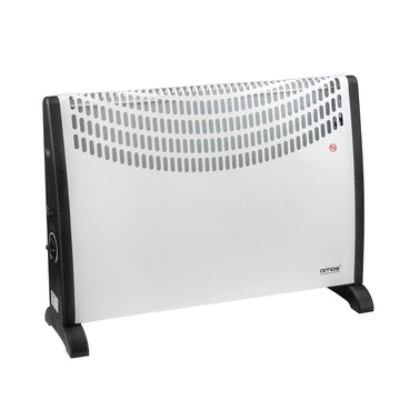 AMOS 2000W Convector Heater 3 Setting Thermostat Home Office Compact Radiator
