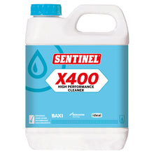 Sentinel X400 High Performance Cleaner 1L Sludge Remover Non-Acid Formula