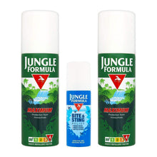 Jungle Formula Insect Repellent Travel Pack Mosquito Bite Sting Protection Spray