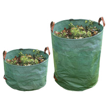 Garland Heavy Duty Garden Bag Green Outdoor Reusable Waste Refuse Recycling Sack