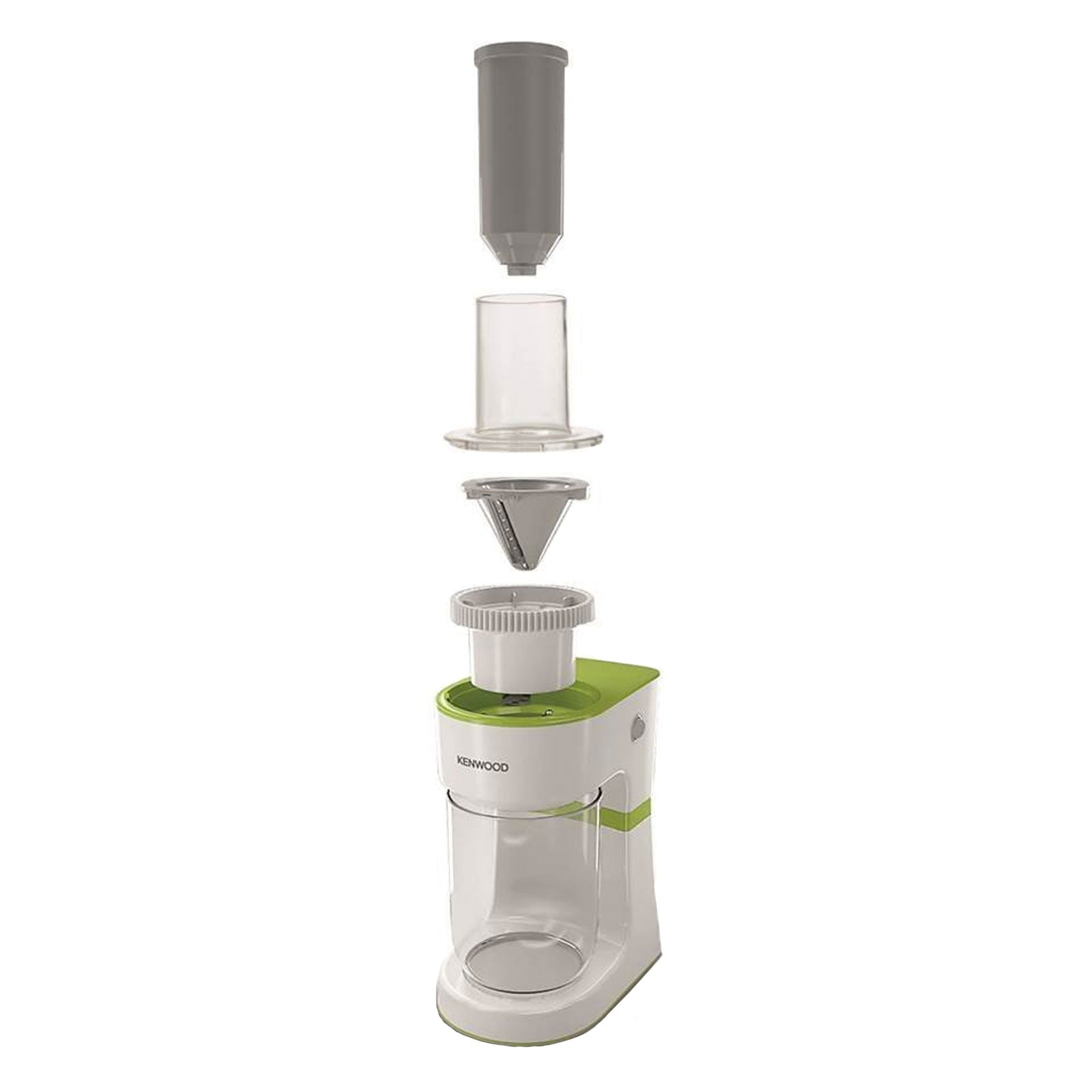 KENWOOD ELECTRIC SPIRALIZER WHITE HEALTHY EATING FRUIT VEGTABLES SLICER FGP200WG
