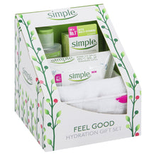 Simple Kind Skin Hydration Gift Set Cleansing Wipes Micellar Water Moisturiser
