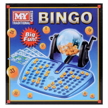 Bingo Lotto Traditional Family for Children and Adults - Complete Set