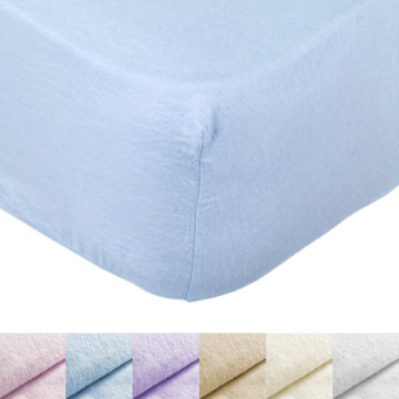 AMOS 100% Brushed Cotton Flannelette Fitted Bed Sheet 25cm Single Double King