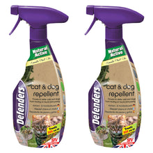 Defenders Cat & Dog Repellent Spray 750ml Deter Fouling Digging Garden Humane