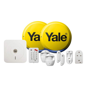 Yale Smart Living Home Alarm View & Control Kit SR-340 PIR Security System
