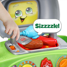 Leap Frog Smart Sizzling BBQ Grill Play Core Learning Music Food Toy Set