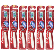 Colgate Toothbrush 360 Optic White Remove Stains Polish Bristles Whitening Cups