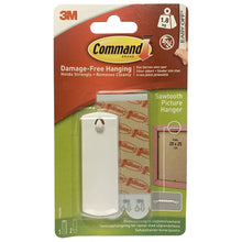 3M Command Sawtooth Picture Hanger 17040 Damage Free Hanging w/ Adhesive Strips