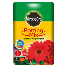 Miracle-Gro Potting Mix Root Boosting Compost 10L Strong Healthy Root Growth