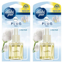 Ambi Pur With A Touch of Febreze Plug In Refill - Cotton Fresh Air Freshener