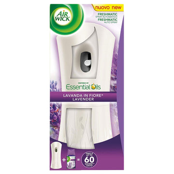 Air Wick Freshmatic Automatic Lavender Spray Holder & 250ml Refill Air Freshener