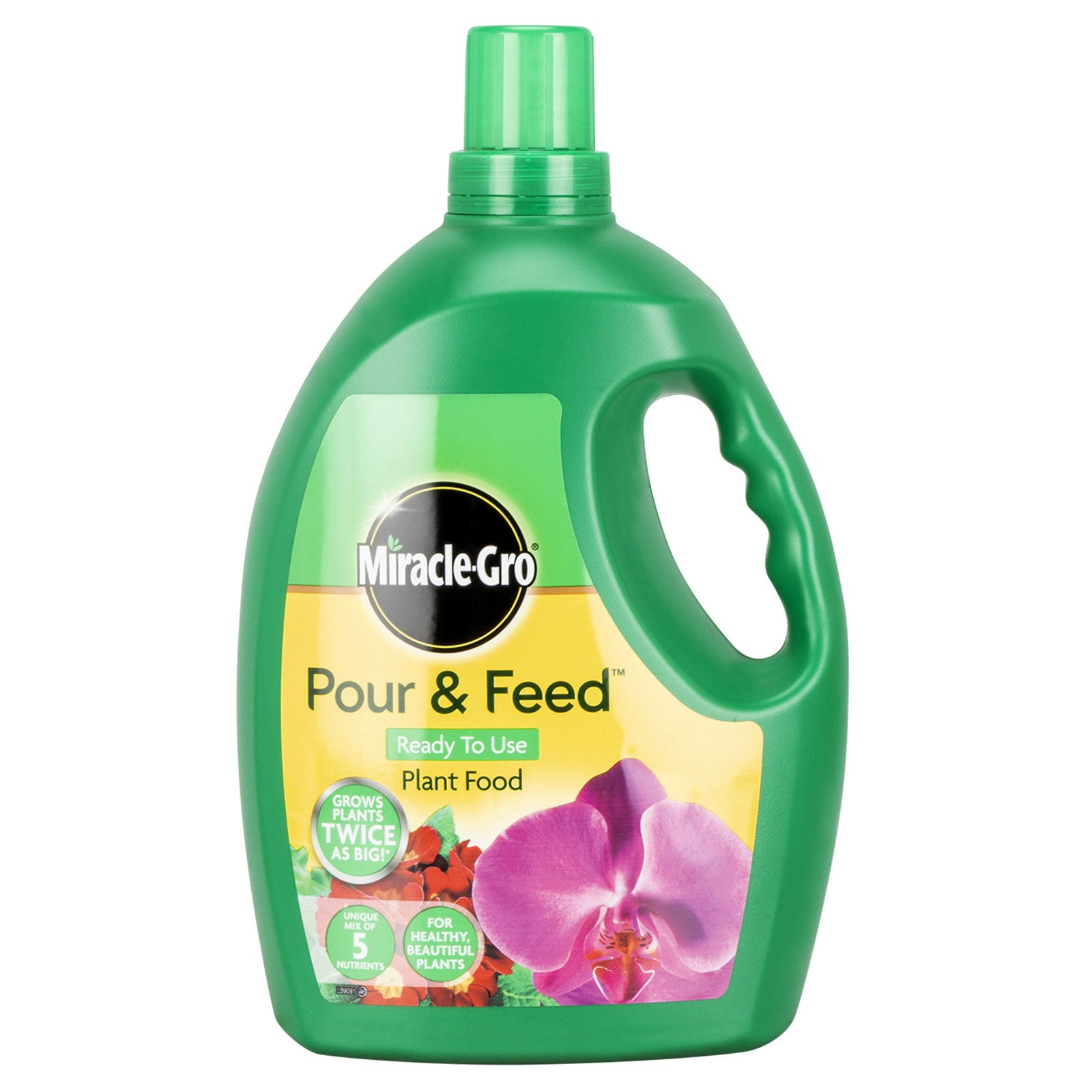 Miracle-Gro Pour & Feed Ready To Use Plant Food 3L Produce Bigger Plants  Blooms