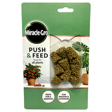 Miracle Gro Push & Feed 10 Cones Indoor Outdoor 6 Months Plant Feed Less Water