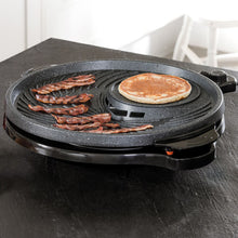 JML Grill Circle Indoor Grill & Griddle Healthy Non-Stick Hotplate Barbecue BBQ