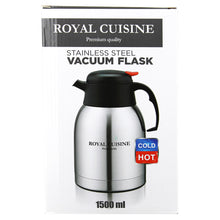 Royal Cuisine Stainless Steel Insulating Vacuum Jug Flask 1500ml 1.5L