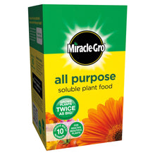 Miracle-Gro All Purpose Soluble Plant Food 500g Fertiliser Feed 10 Unique Nutrients