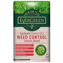 Evergreen Premium Plus Weed Control Lawn Food 8kg Treats 400sqm Feed Fertiliser