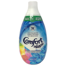 Comfort Intense Fabric Conditioner Ultra Concentrated Fresh Sky 36 Washes 540ml