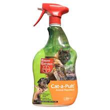 Bayer Garden Cat-A-Pult Animal Repellent Spray 1L Protect Plants Against Cats Dogs Birds Rabbits and Other Animals